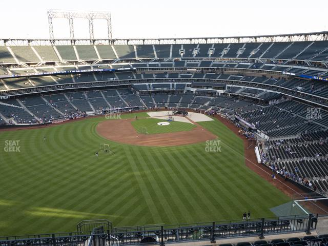 Citi Field Section 536 view