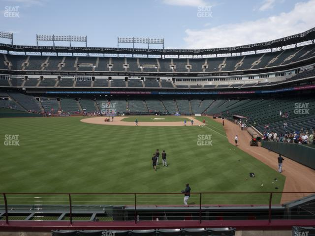 Globe Life Park Section 7 view