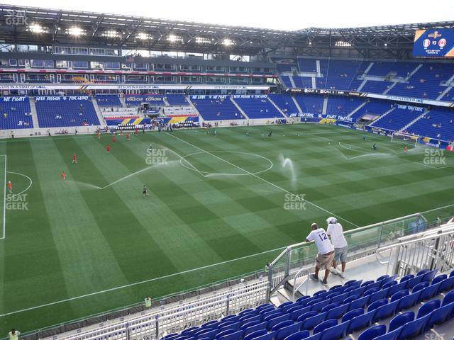Red Bull Arena Section 228 view