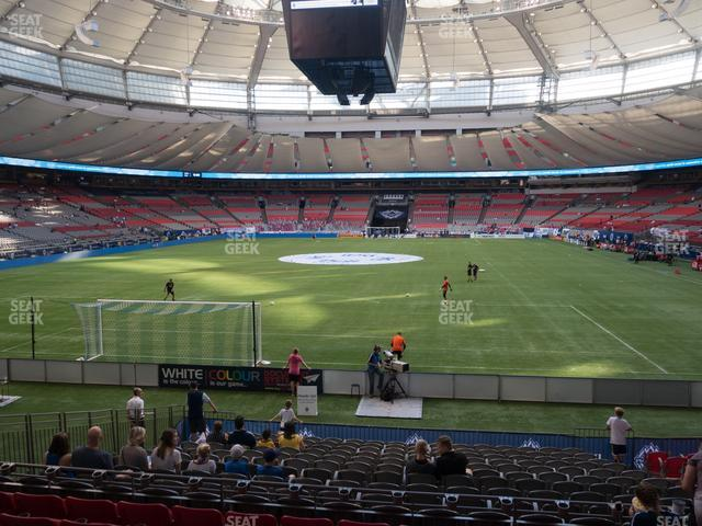BC Place Stadium Section 227 view