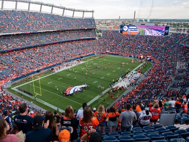 Broncos Stadium at Mile High Section 516 view