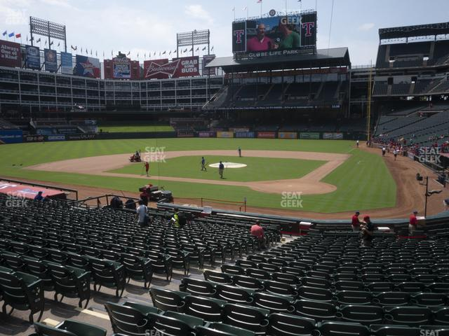 Globe Life Park Section 23 view