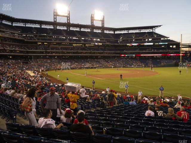 Citizens Bank Park Section 110 view