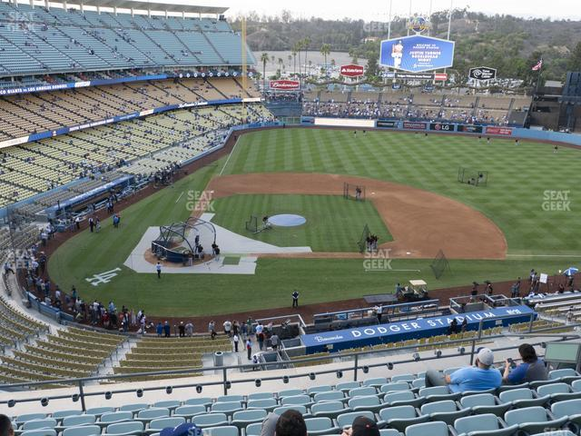 Dodger Stadium Reserve 10 view