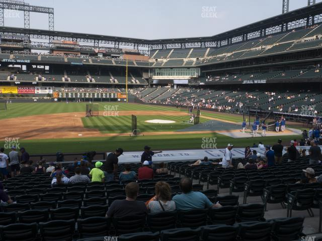 Coors Field Section 139 view