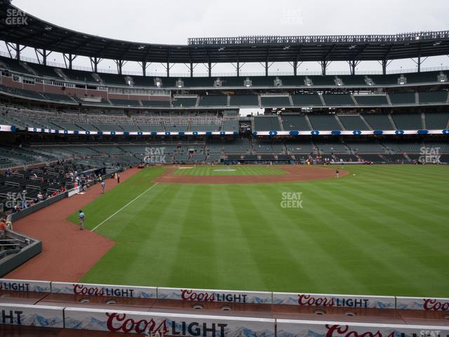 SunTrust Park Section 159 view