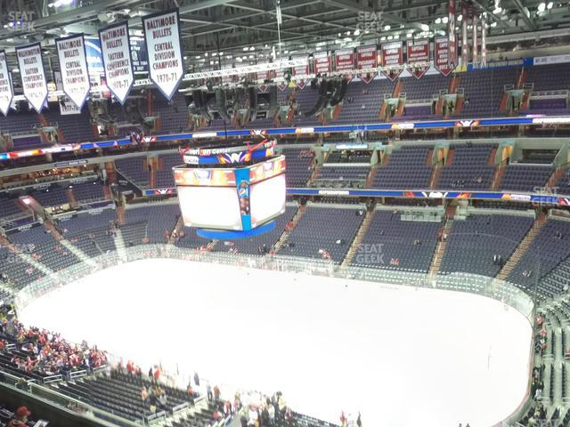 Capital One Arena Section 403 view