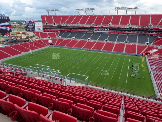 Raymond James Stadium Section 314 view