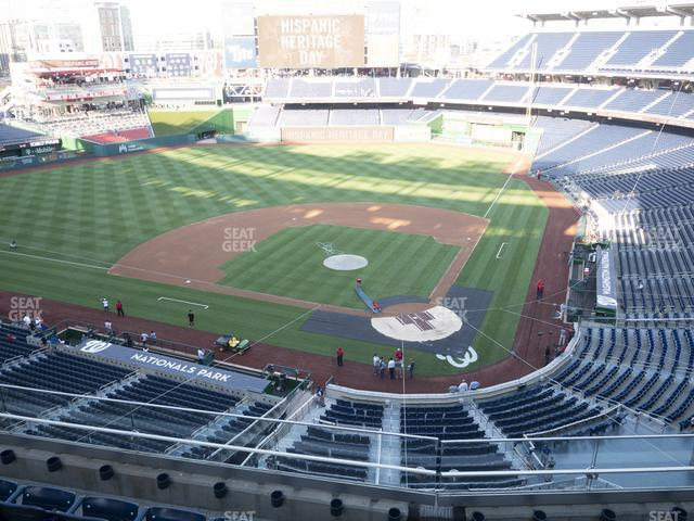 Nationals Park Section 311 view