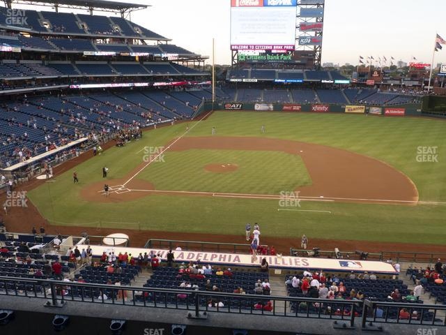 Citizens Bank Park Section 216 view