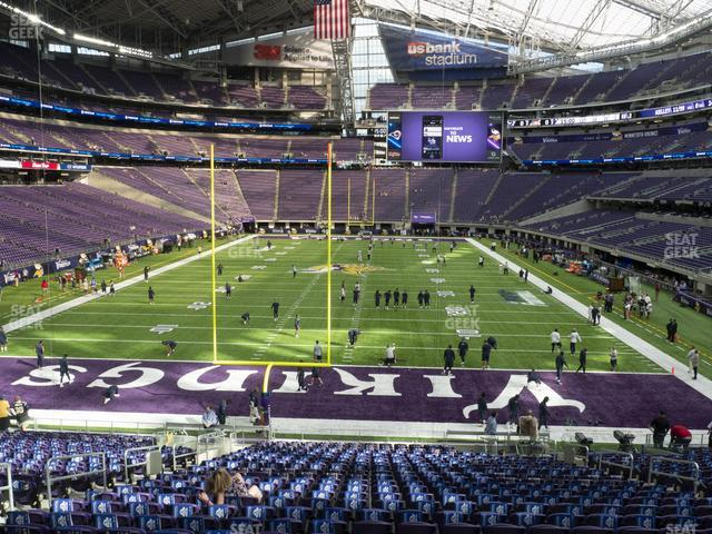 U.S. Bank Stadium Section 141 view