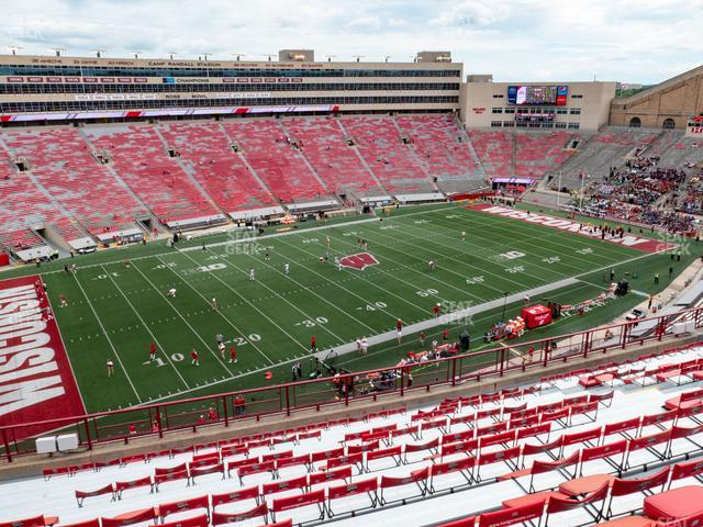 Camp Randall Stadium Section II view