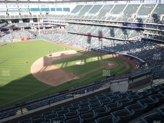 Progressive Field Section 570 view