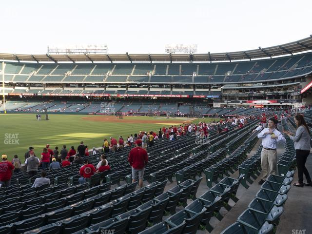 Angel Stadium of Anaheim Section 104 view