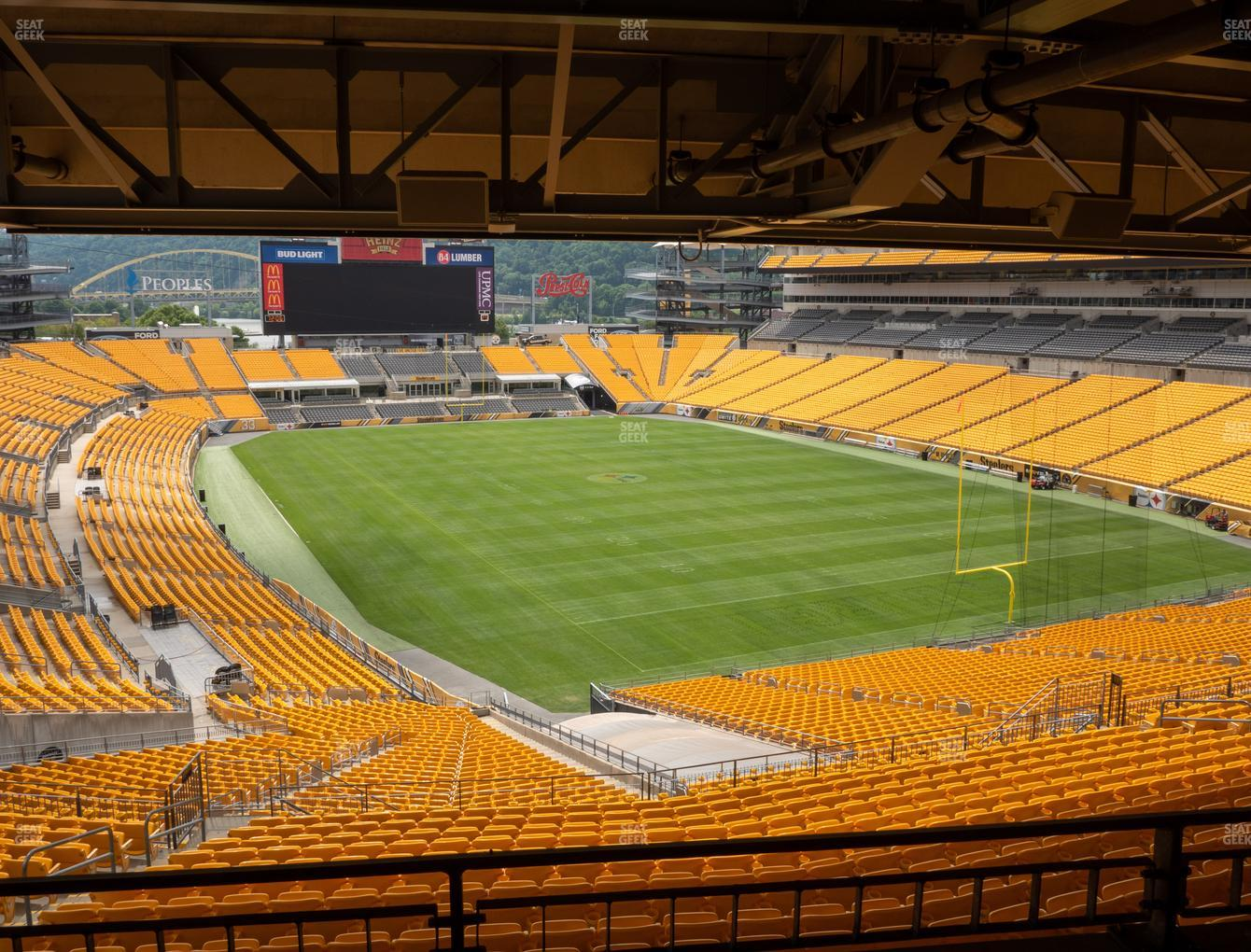Pittsburgh Steelers at Heinz Field North Club 004 View