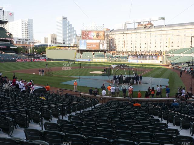 Oriole Park at Camden Yards Section 42 view