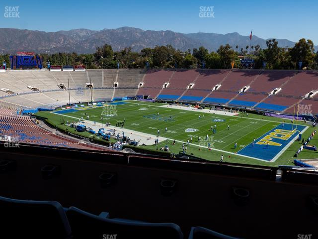Rose Bowl Section Club 102 view