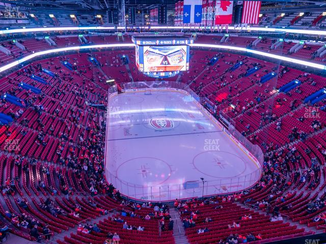 Bell Centre Section 311 view