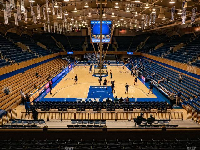 Cameron Indoor Stadium Section 2 view