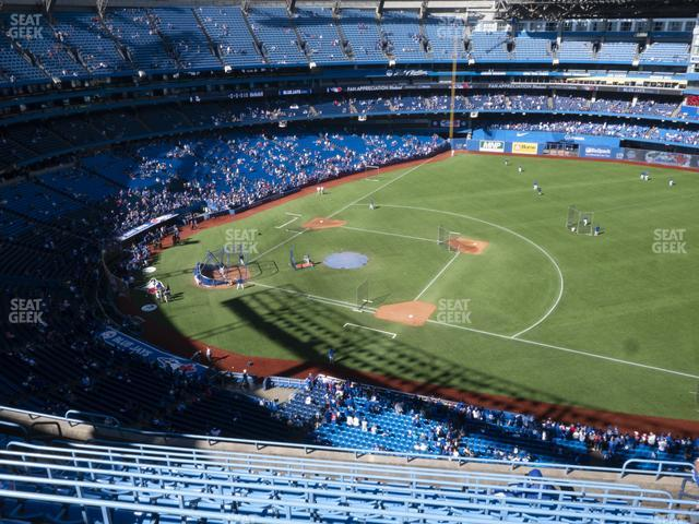 Rogers Centre Section 516 R view