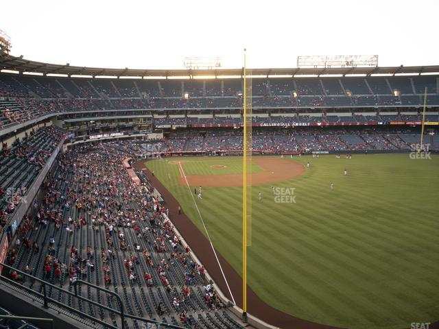 Angel Stadium of Anaheim Section 435 view