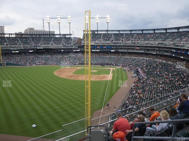 Comerica Park Section 346 view