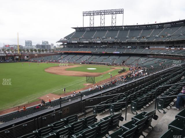 Oracle Park Section 231 view