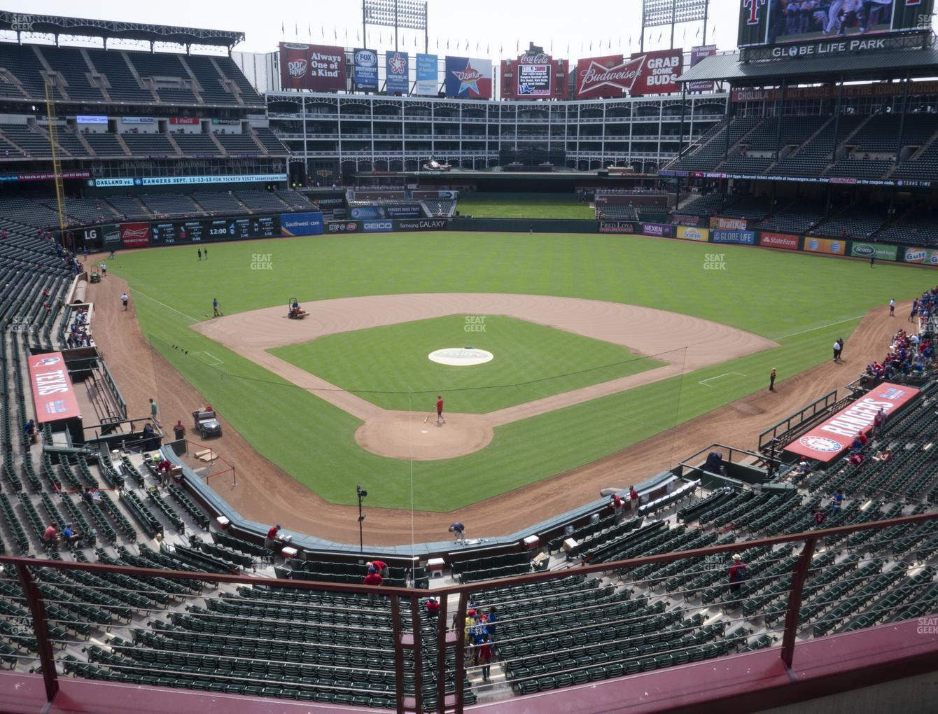 International Champions Cup at Globe Life Park Section 227 View