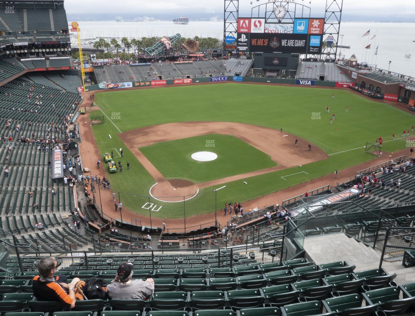 San Francisco Giants at Oracle Park Section 313 View