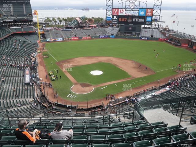 Oracle Park Section 313 view