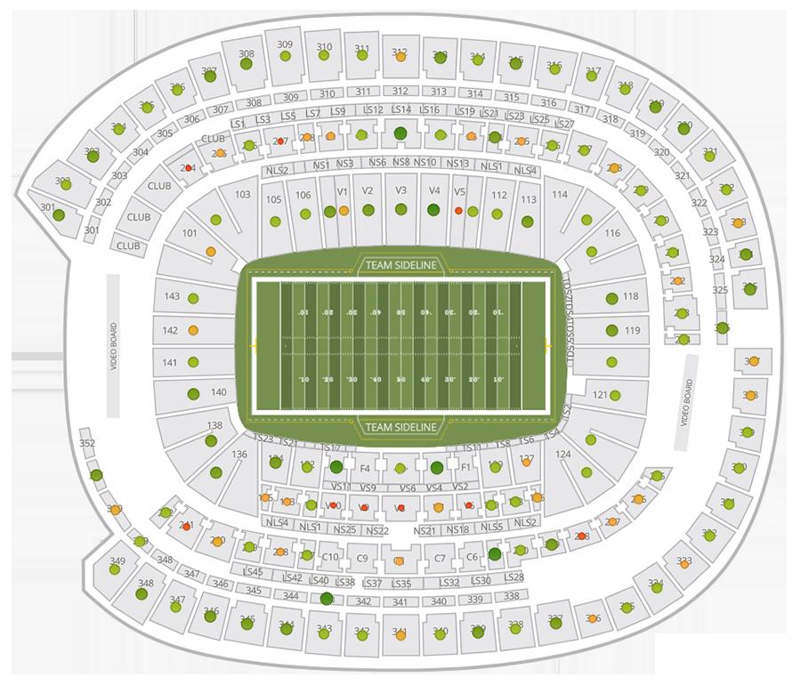 Super Bowl Seating Chart