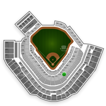 Pittsburgh Pirates at PNC Park Section 113 View