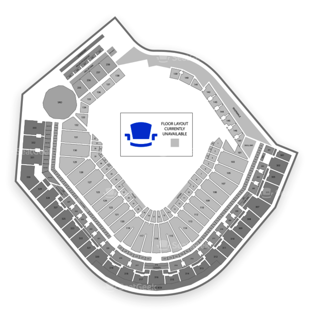 PNC Park Seating Chart Concert & Map   SeatGeek