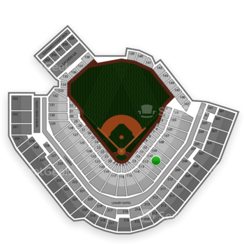 Pittsburgh Pirates at PNC Park Section 110 View