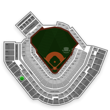Pittsburgh Pirates at PNC Park Section 325 View
