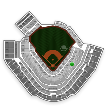 Pittsburgh Pirates at PNC Park Section 108 View