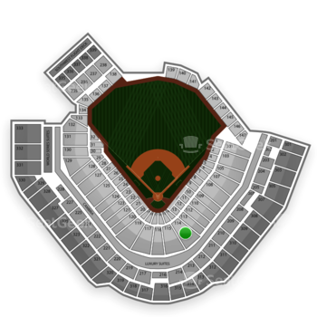 Pittsburgh Pirates at PNC Park Section 114 View
