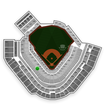 Pittsburgh Pirates at PNC Park Section 123 View