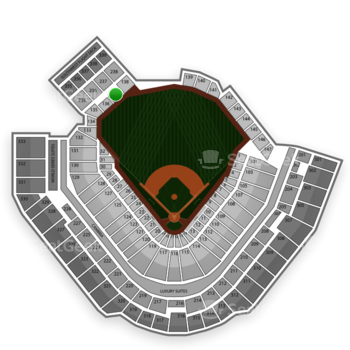 Pittsburgh Pirates at PNC Park Section 137 View