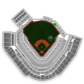 Pittsburgh Pirates at PNC Park Section 142 View