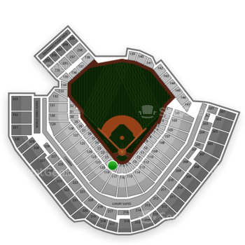 Pittsburgh Pirates at PNC Park Section 19 View