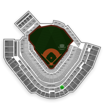 Pittsburgh Pirates at PNC Park Section 213 View