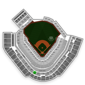Pittsburgh Pirates at PNC Park Section 219 View