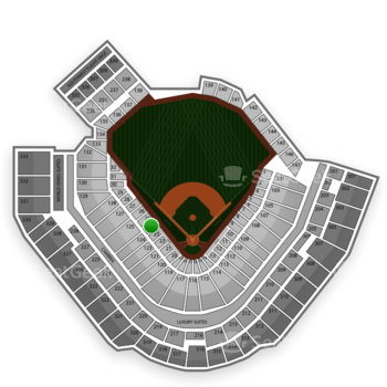 Pittsburgh Pirates at PNC Park Section 24 View