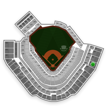 Pittsburgh Pirates at PNC Park Section 305 View