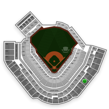 Pittsburgh Pirates at PNC Park Section 309 View