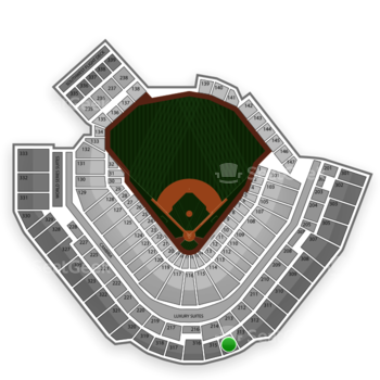 Pittsburgh Pirates at PNC Park Section 314 View