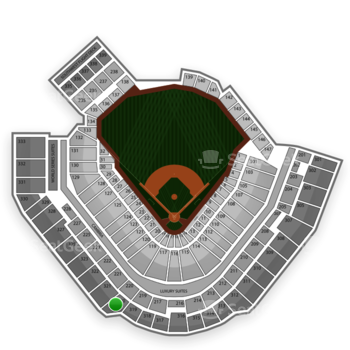 Pittsburgh Pirates at PNC Park Section 320 View