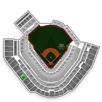 Pittsburgh Pirates at PNC Park Section 323 View