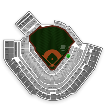 Pittsburgh Pirates at PNC Park Section 6 View